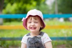 Niño de dos años feliz Fotos de archivo