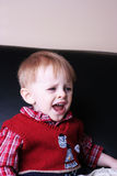 Niño de griterío Fotografía de archivo libre de regalías