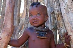 Niño de Himba Fotos de archivo libres de regalías