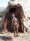 Niño de Himba Fotos de archivo