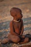 Niño de Himba Imágenes de archivo libres de regalías