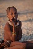 Niño de Himba Fotografía de archivo