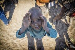 Niño de Himba Imagen de archivo