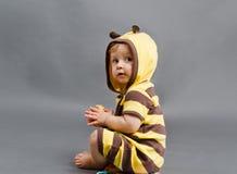 Niño de la abeja Foto de archivo