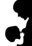 Niño de la madre Fotografía de archivo libre de regalías
