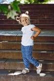 Niño de la manera Foto de archivo