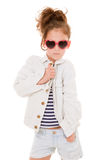 Niño de la moda Imagen de archivo libre de regalías