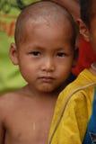 Niño de la tribu de la colina Imagen de archivo