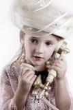 Niño de la vendimia Imagen de archivo