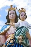 Niño de Madonna y de Jesús Fotografía de archivo libre de regalías