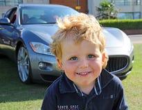 Niño de Maserati Imagenes de archivo