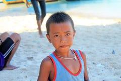 Niño de Mogan foto de archivo libre de regalías