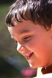Niño de risa Imágenes de archivo libres de regalías