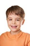 Niño de risa Foto de archivo libre de regalías