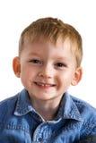 Niño de risa Fotos de archivo libres de regalías