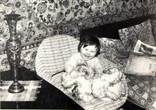 Niño de risa Fotos de archivo