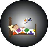Niño de Ssleeping libre illustration