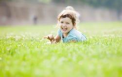 Niño de tres años feliz Imagen de archivo