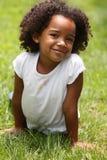Niño del Afro Fotos de archivo libres de regalías