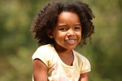 Niño del Afro Fotografía de archivo libre de regalías