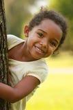 Niño del afroamericano Imagenes de archivo