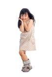 Niño del asiático de la moda fotografía de archivo libre de regalías