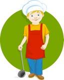 Niño del cocinero Ilustración del Vector