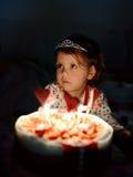 Niño del cumpleaños Fotos de archivo