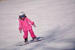 Niño del esquí Fotos de archivo libres de regalías