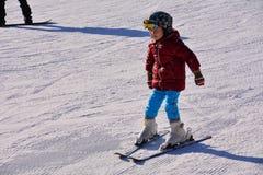 Niño del esquí Fotografía de archivo libre de regalías