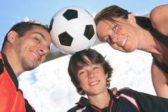 Niño del fútbol Imagen de archivo