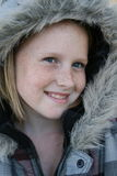 Niño del invierno Imagen de archivo libre de regalías