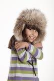 Niño del invierno Fotos de archivo libres de regalías