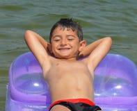 Niño del mar Imagen de archivo