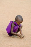 Niño del Masai imagen de archivo libre de regalías