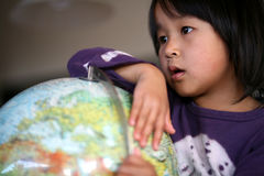 Niño del mundo Imágenes de archivo libres de regalías