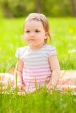 Niño del parque Foto de archivo libre de regalías