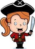Niño del pirata Foto de archivo