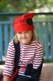 Niño del pirata Fotos de archivo