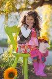 Niño del verano Foto de archivo libre de regalías