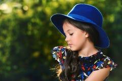 Niño del verano Fotografía de archivo