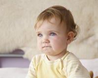 Niño desconcertado Fotos de archivo