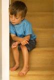 Niño descuidado Fotografía de archivo libre de regalías