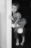 Niño descuidado Fotografía de archivo
