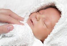 Niño después del baño Fotos de archivo libres de regalías