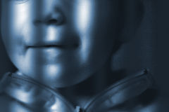 Niño detrás de redes Fotos de archivo libres de regalías