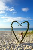 Niño dulce del amor Imágenes de archivo libres de regalías
