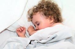Niño durmiente Foto de archivo libre de regalías