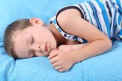 Niño durmiente Fotos de archivo