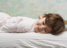 Niño durmiente Imagenes de archivo